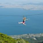 日本で空を飛べるスポット びわ湖バレイ  空を飛んで夏の暑さを吹き飛ばそう!! 恋人同士にもおすすめ