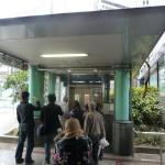 地下鉄三宮駅への地下入口