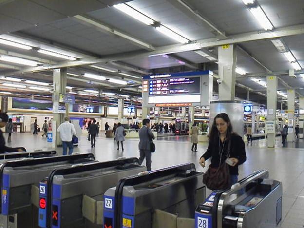 阪急梅田駅の3階改札