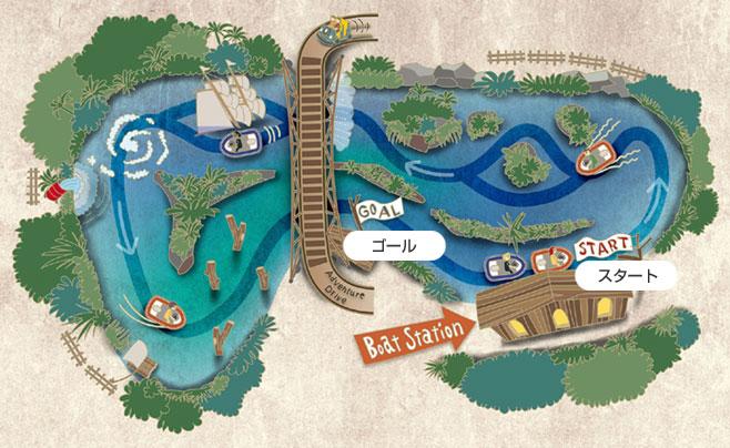 アドベンボート フロンティア コース