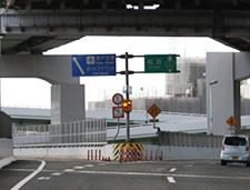 「神戸空港」「ポートアイランド」方面