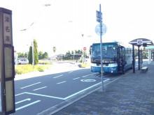 津名港バス停
