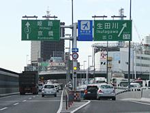 生田川出口