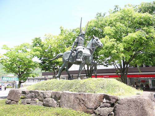 井伊直政の銅像