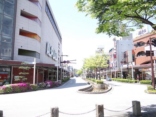彦根駅前大通り