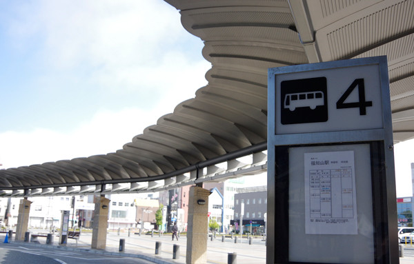 JR福知山駅 バス乗り場